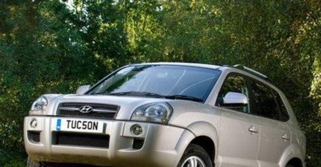 2008 Hyundai Tucson 2.0 DX旗艦  第8張相片