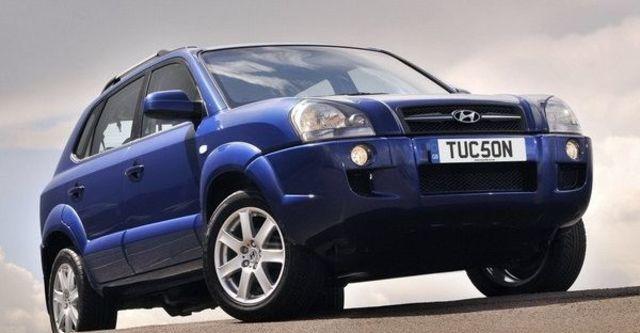 2008 Hyundai Tucson 2.0 EX旗艦  第2張相片
