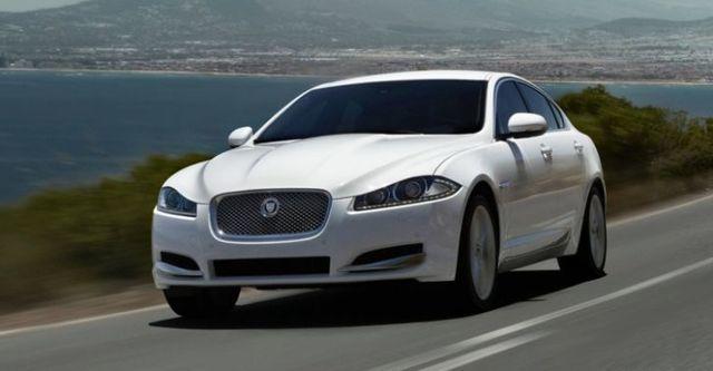 2014 Jaguar XF 2.2D  第1張相片