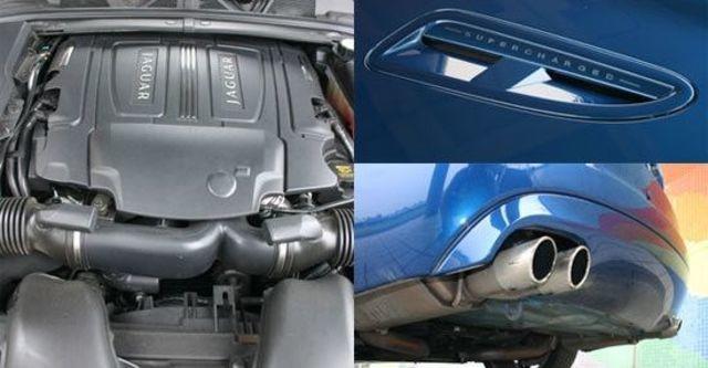 2011 Jaguar XF R 5.0 V8 SC  第9張相片