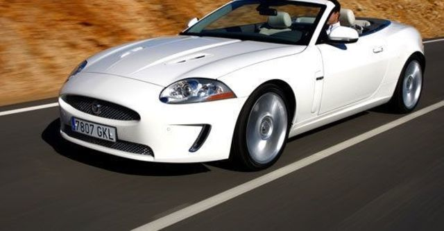 2010 Jaguar XKR 5.0 V8 Convertible  第8張相片
