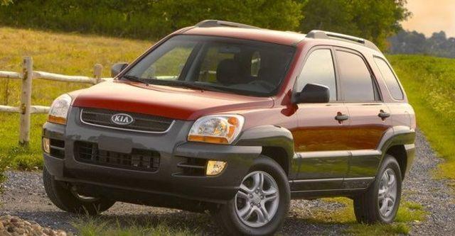 2008 Kia Sportage 2.0 CRDi動力版  第1張相片
