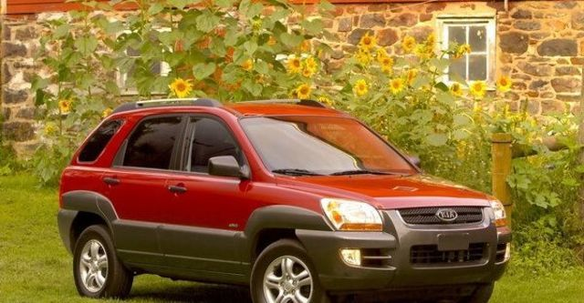 2008 Kia Sportage 2.0 CRDi尊爵版  第4張相片
