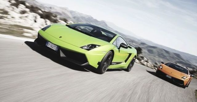 2011 Lamborghini Gallardo LP 570-4 Superleggera Coupe  第1張相片