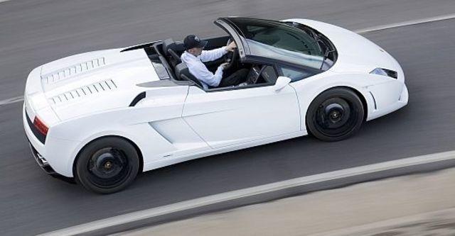 2010 Lamborghini Gallardo LP560-4 Spyder  第6張相片