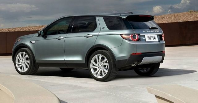 2015 Land Rover Discovery Sport 2.2D SE  第4張相片