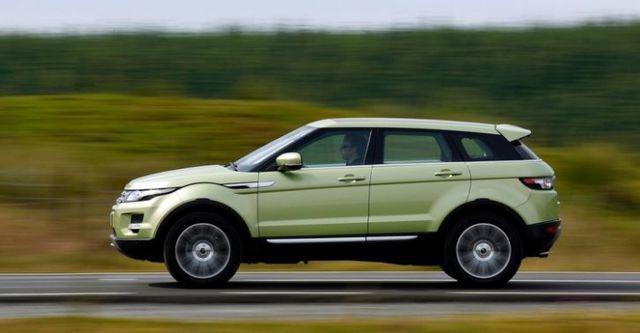 2015 Land Rover Range Rover Evoque 5D TD4 Pure  第4張相片