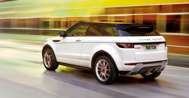 2015 Land Rover Range Rover Evoque Coupe Si4 Dynamic+  第5張相片