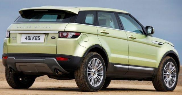 2014 Land Rover Range Rover Evoque 5D Pure  第3張相片