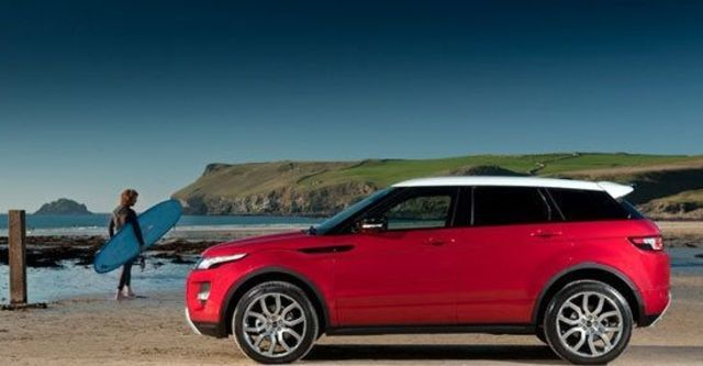 2013 Land Rover Range Rover Evoque 5D Dynamic+  第5張相片
