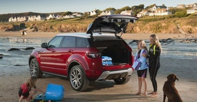 2013 Land Rover Range Rover Evoque 5D Dynamic+  第6張相片