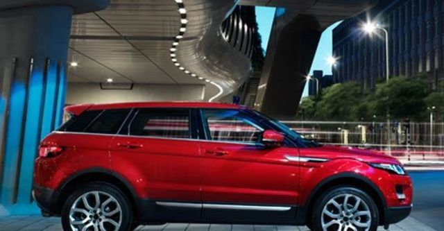 2012 Land Rover Range Rover Evoque 5D Prestige  第10張相片