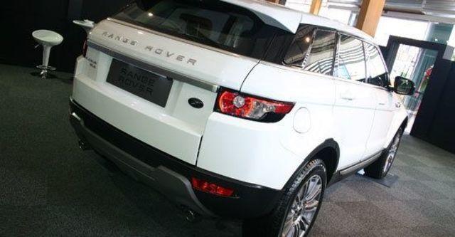 2012 Land Rover Range Rover Evoque 5D Pure  第3張相片