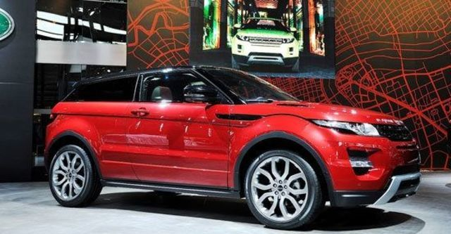 2012 Land Rover Range Rover Evoque Coupe Dynamic+  第1張相片