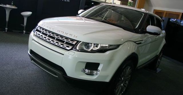 2011 Land Rover Range Rover Evoque 5D Pure  第1張相片