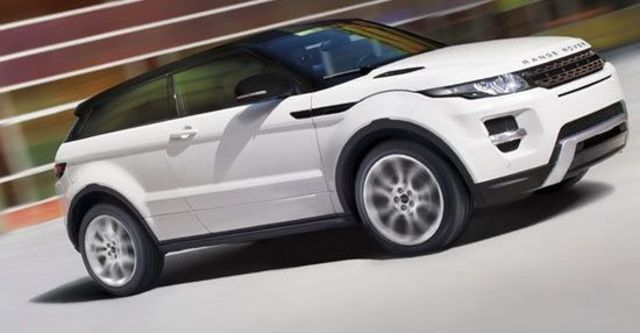 2011 Land Rover Range Rover Evoque Coupe Dynamic  第2張相片