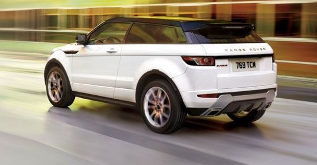 2011 Land Rover Range Rover Evoque Coupe Dynamic  第3張相片