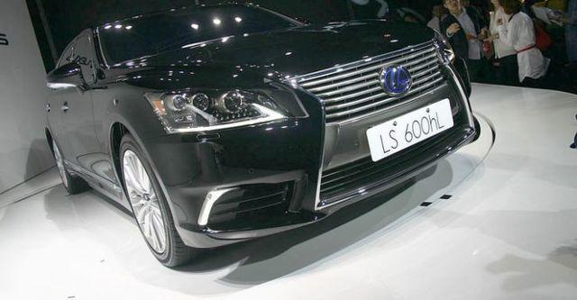 2015 Lexus LS 600hL OTTOMAN  第1張相片