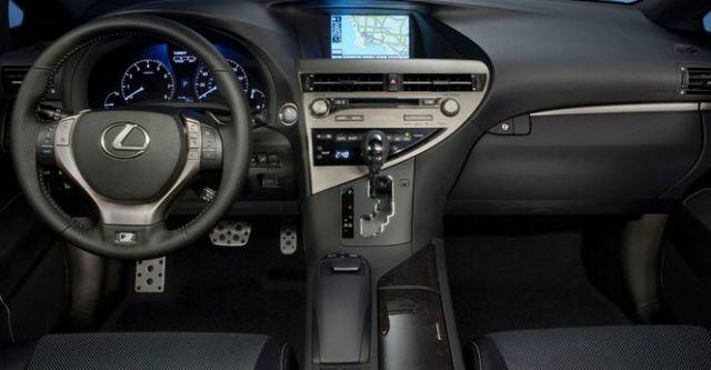 2015 Lexus RX 350 F-Sport  第10張相片