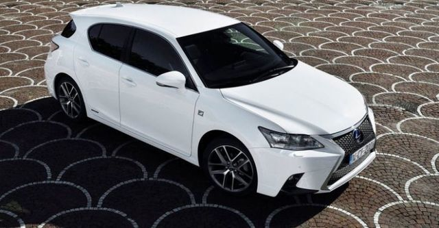 2014 Lexus CT 200h F Sport菁英版  第1張相片