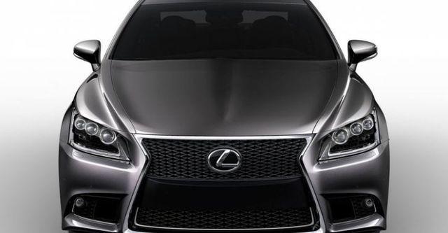 2014 Lexus LS 600h F-Sport  第1張相片
