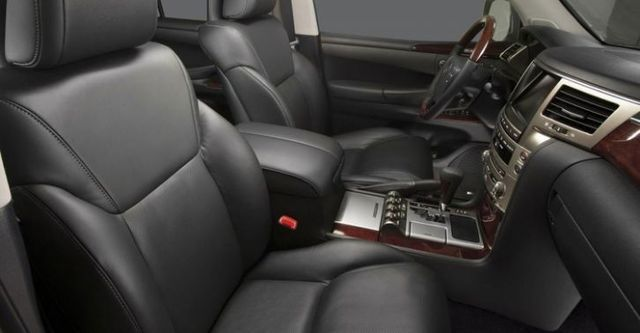 2014 Lexus LX 570車頂置物架版  第8張相片