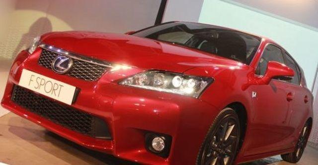 2013 Lexus CT 200h F-Sport頂級版  第12張相片