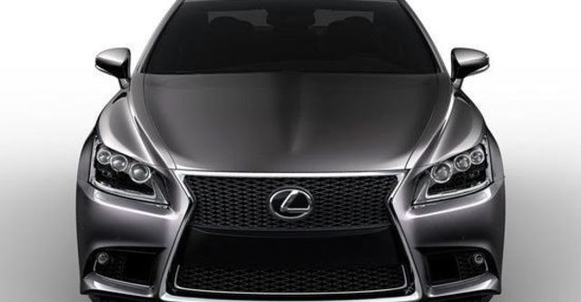 2013 Lexus LS 600h F-Sport  第1張相片