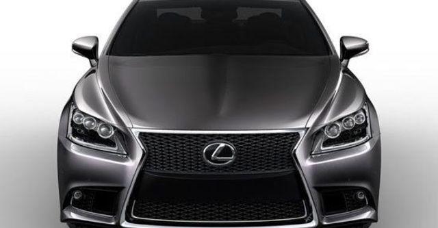 2013 Lexus LS 600h F-Sport  第2張相片