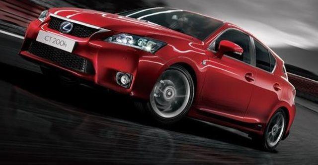 2012 Lexus CT 200h F-Sport頂級Navi版  第13張相片