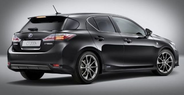 2012 Lexus CT 200h F-Sport頂級版  第6張相片
