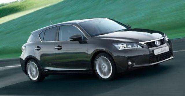 2012 Lexus CT 200h 頂級Navi版  第2張相片