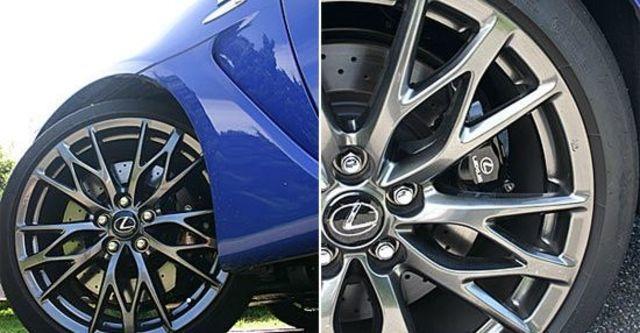 2012 Lexus IS F  第10張相片