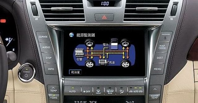 2012 Lexus LS 600hL五人座OTTOMAN  第7張相片