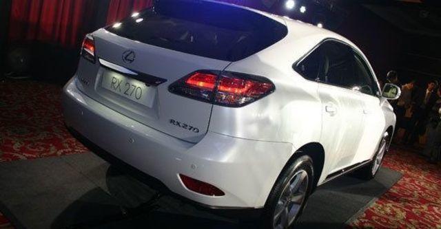 2012 Lexus RX 270豪華版  第3張相片