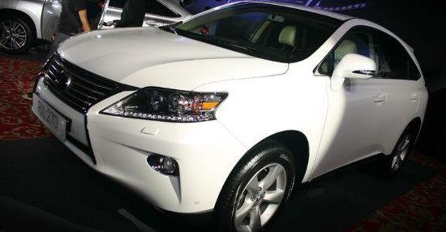 2012 Lexus RX 270頂級版  第1張相片
