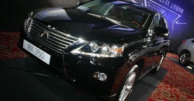 2012 Lexus RX 350頂級版  第1張相片