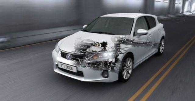 2011 Lexus CT 200h 頂級Navi版  第4張相片