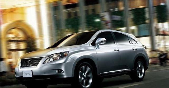 2011 Lexus RX 350豪華版  第3張相片