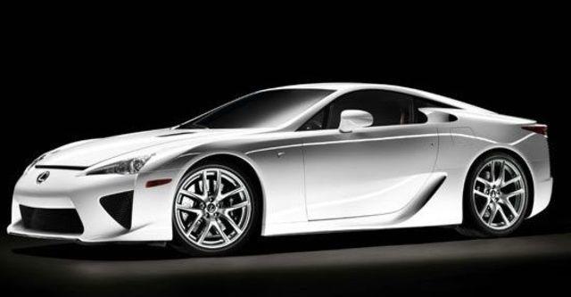 2010 Lexus LFA 4.8  第1張相片