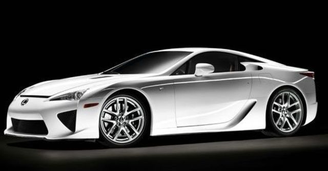 2010 Lexus LFA 4.8  第2張相片