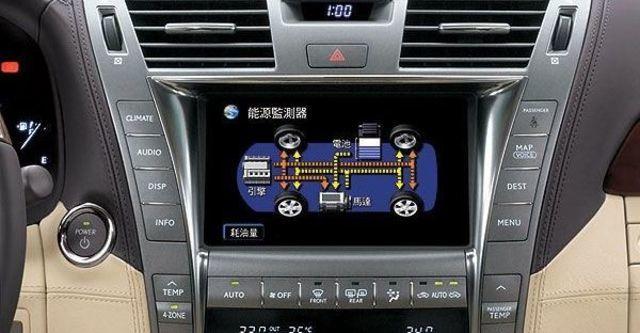 2009 Lexus LS 600hL 皇家限定四人座  第5張相片