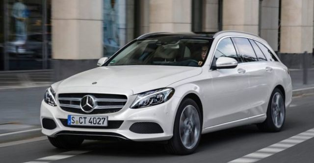 2015 M-Benz C-Class Estate C200 BlueTEC Avantgarde  第1張相片