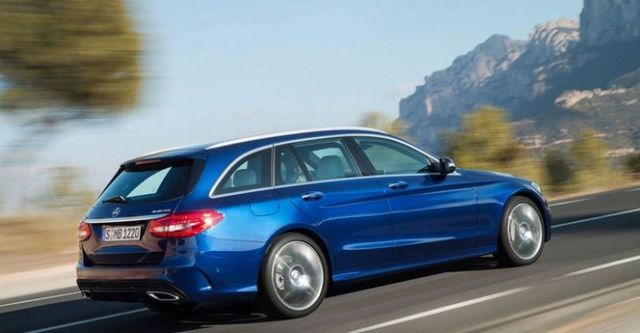 2015 M-Benz C-Class Estate C200 BlueTEC Avantgarde  第2張相片
