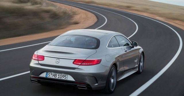 2015 M-Benz S-Class Coupe S500  第3張相片