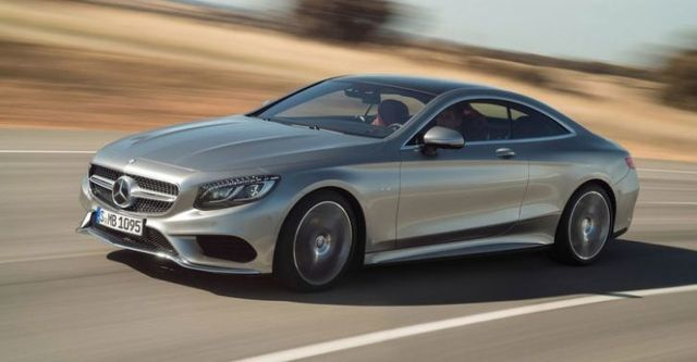 2015 M-Benz S-Class Coupe S500  第4張相片