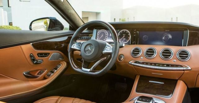 2015 M-Benz S-Class Coupe S500  第10張相片