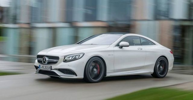2015 M-Benz S-Class Coupe S63 AMG 4MATIC  第1張相片