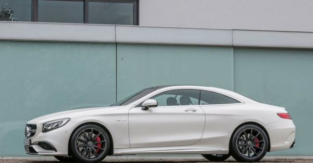 2015 M-Benz S-Class Coupe S63 AMG 4MATIC  第3張相片