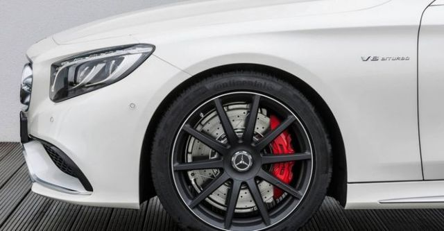 2015 M-Benz S-Class Coupe S63 AMG 4MATIC  第5張相片